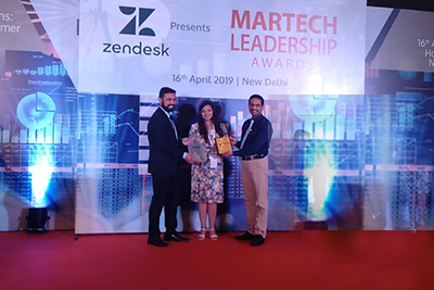 A Glorious Achievement, Infibeam Avenues Declared Winner At The MarTech Leadership Awards 2019