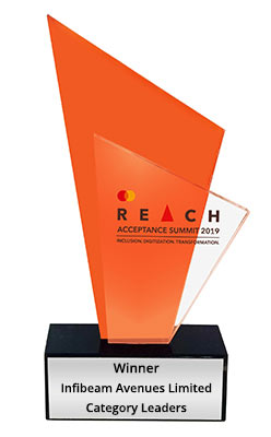 CCAvenue Honored with 'Digital Payment Facilitator-Category Leader' Accolade at Mastercard's REACH Acceptance Awards