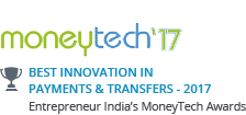 Best Innovation in Payments & Transfers - 2017
