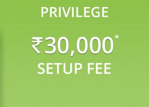 Privilege - INR 30,000 Setup Fee