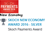 'Skoch New Economy Award 2016 - Silver' by Skoch Payments Award