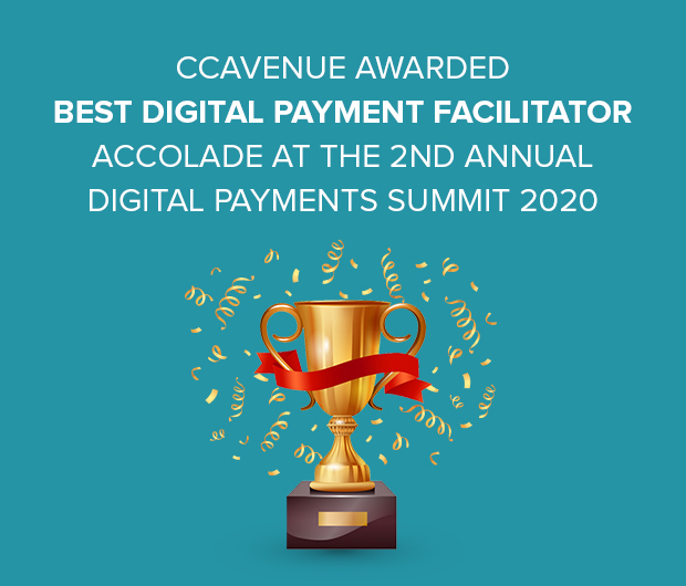 CCAvenue awarded Best Digital Payment Facilitator Accolade at the 2nd Annual Digital Payments Summit 2020